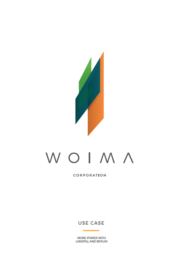 Power with landfill and biogas, use case - WOIMA Corporation