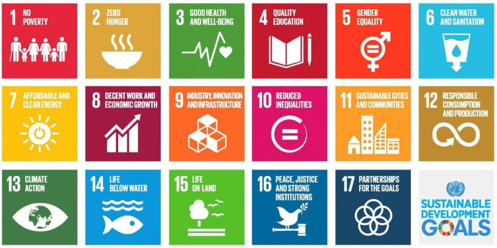 All United Nations Sustainable Developmen Goals - WOIMA Corporation aligning with UN Sustainable Development Goals (SDG) - Summary